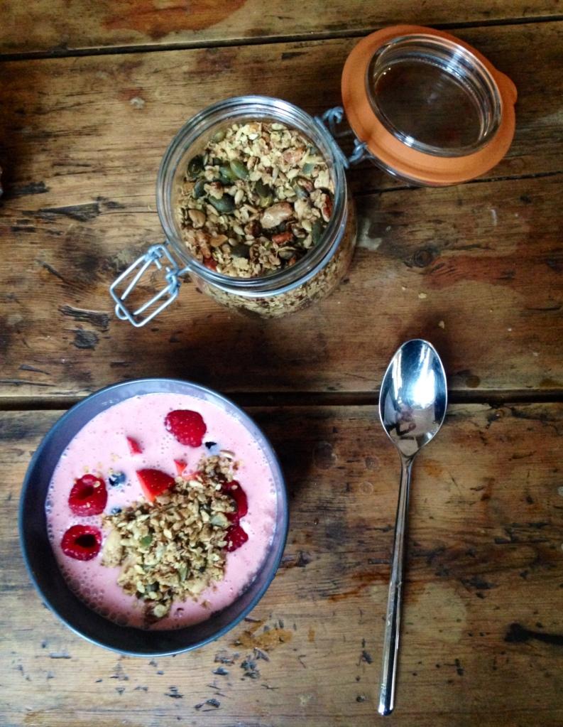 aardbeiyoghurt